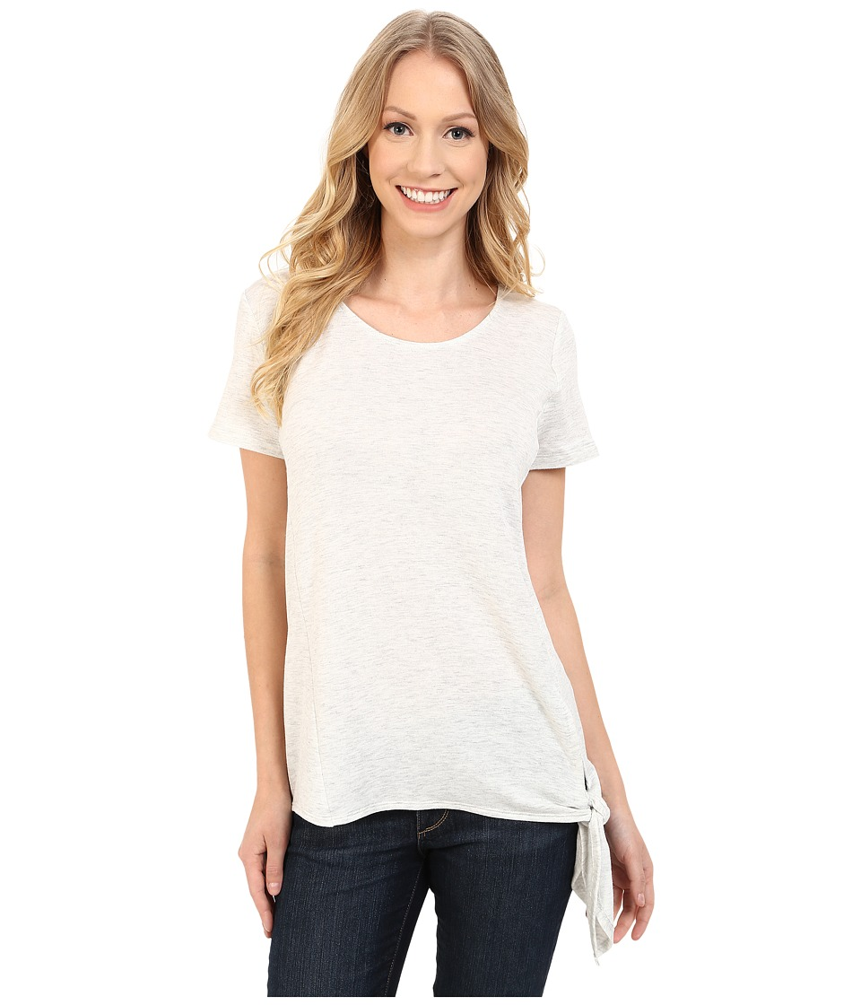KUT from the Kloth - Madge Short Sleeve Top (Ivory) Women's Short Sleeve Pullover