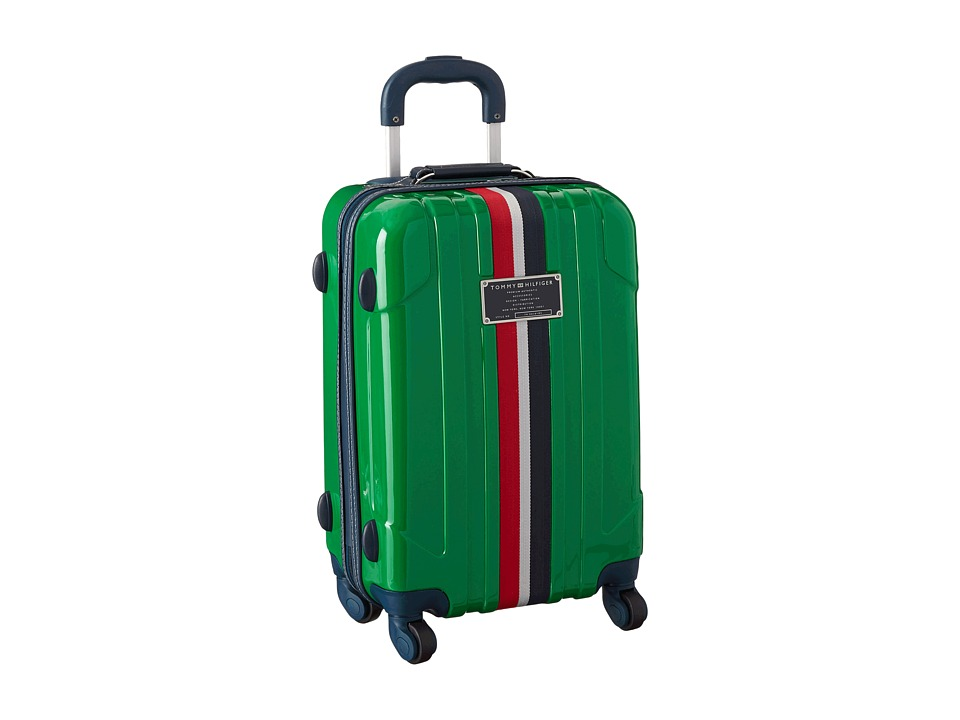 Tommy Hilfiger - Lochwood Upright 21 Suitcase (Green) Carry on Luggage