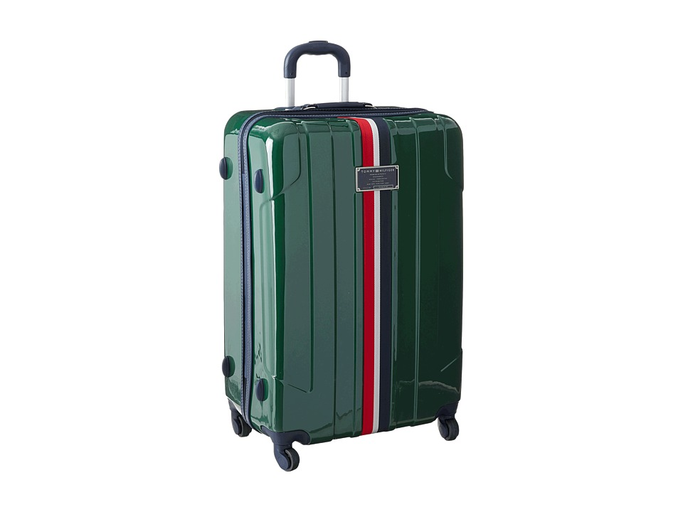 Tommy Hilfiger Lochwood Upright 28 Suitcase (Olive) Luggage