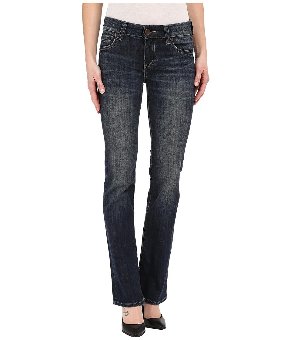 KUT from the Kloth - Natalie High Rise Bootcut Jeans in Unwavering w/ Euro Base Wash (Unwavering/Euro Base Wash) Women's Jeans