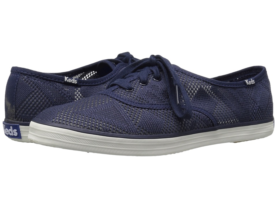 Keds - Champion Geo Mesh (Navy) Women's Shoes
