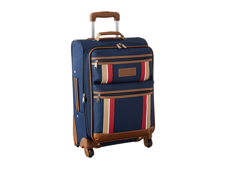 Tommy Hilfiger - Scout Upright 21 Suitcase (Navy) Carry on Luggage