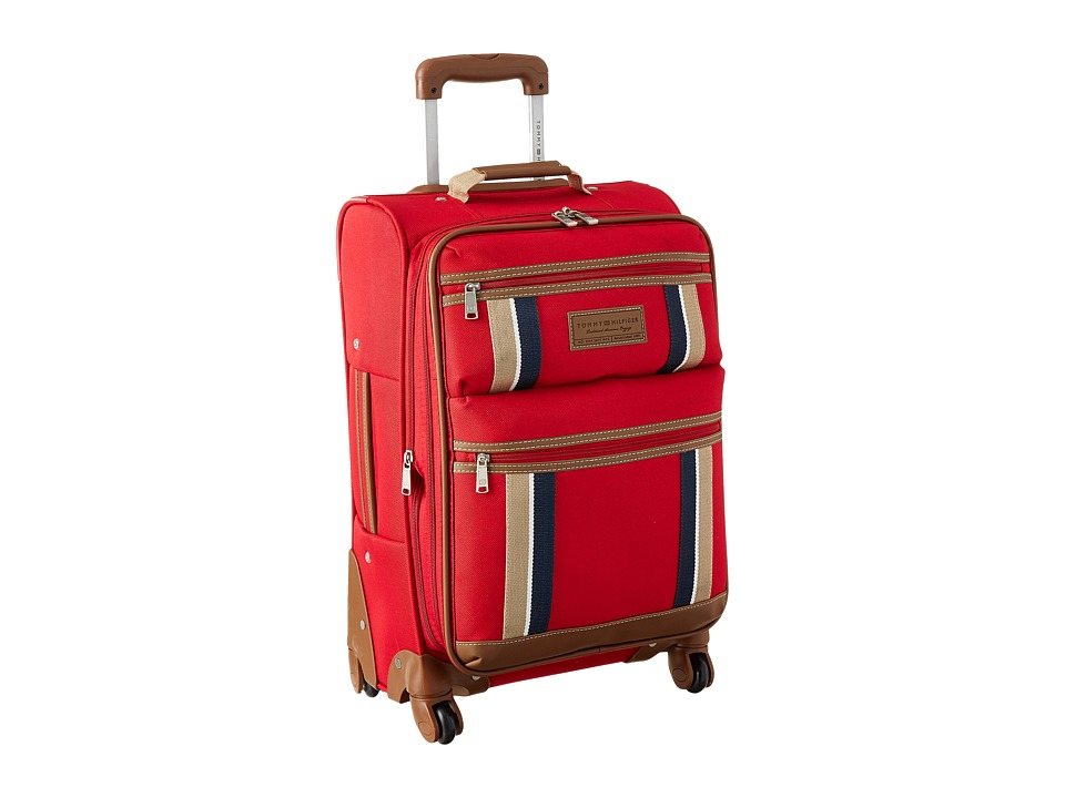 Tommy Hilfiger - Scout Upright 21 Suitcase (Red) Carry on Luggage