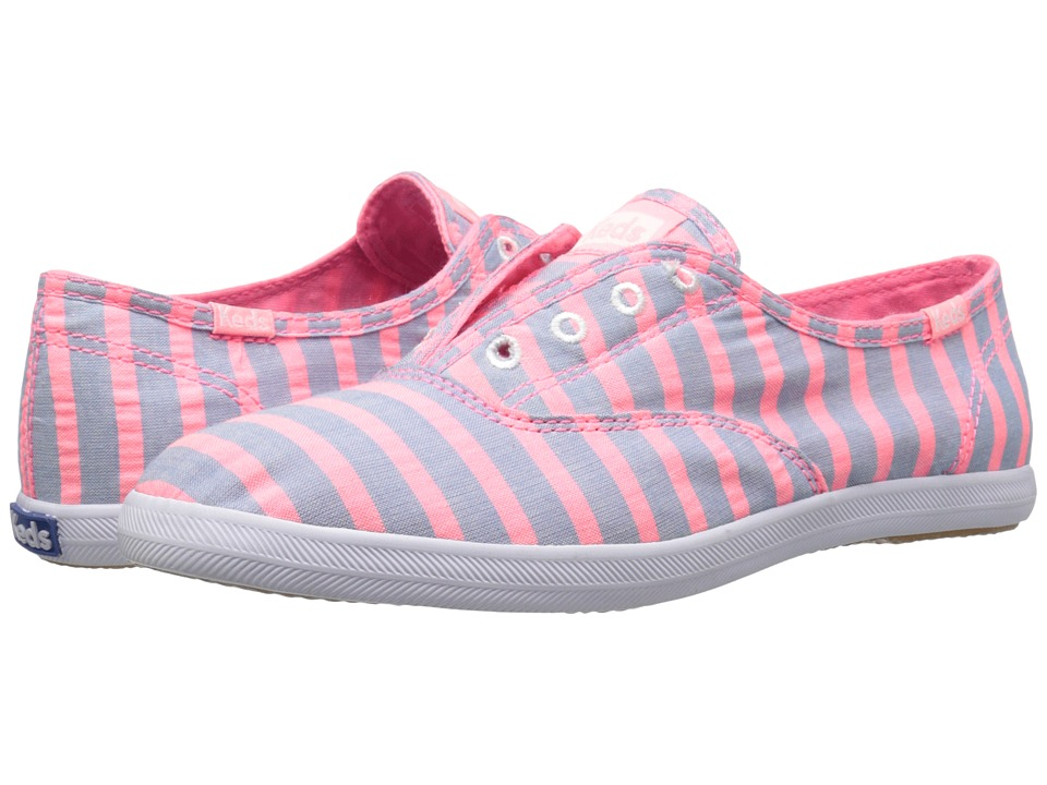 Keds - Chillax Neon Stripe (Pink) Women's Shoes