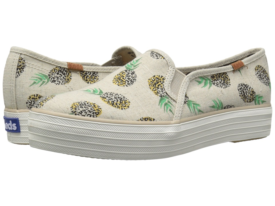 Keds - Triple Decker Animal (Natural) Women's Shoes
