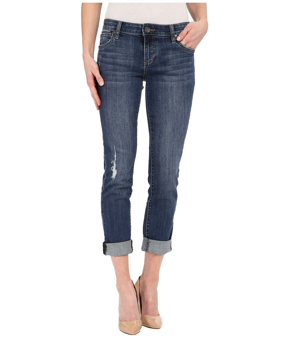 KUT from the Kloth - Catherine Boyfriend in Uplift w/ Dark Stone Base Wash (Uplift/Dark Stone Base Wash) Women's Jeans