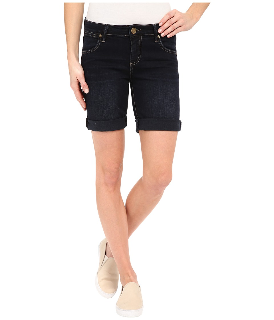 KUT from the Kloth - Catherine Boyfriend Short (Thorough Wash) Women's Shorts