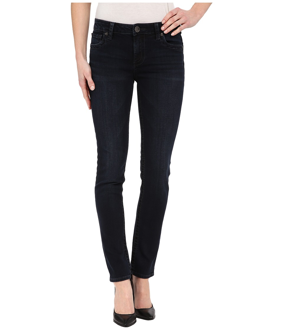 KUT from the Kloth - Stevie Straight Leg Five-Pocket Jeans in Virtuous w/ Euro Base Wash (Virtuous/Euro Base Wash) Women's Jeans