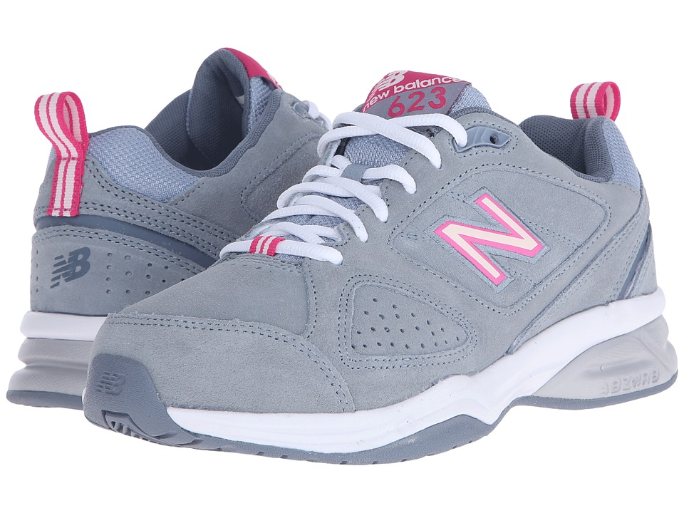 New Balance - WX623v3 (Grey) Women's Shoes