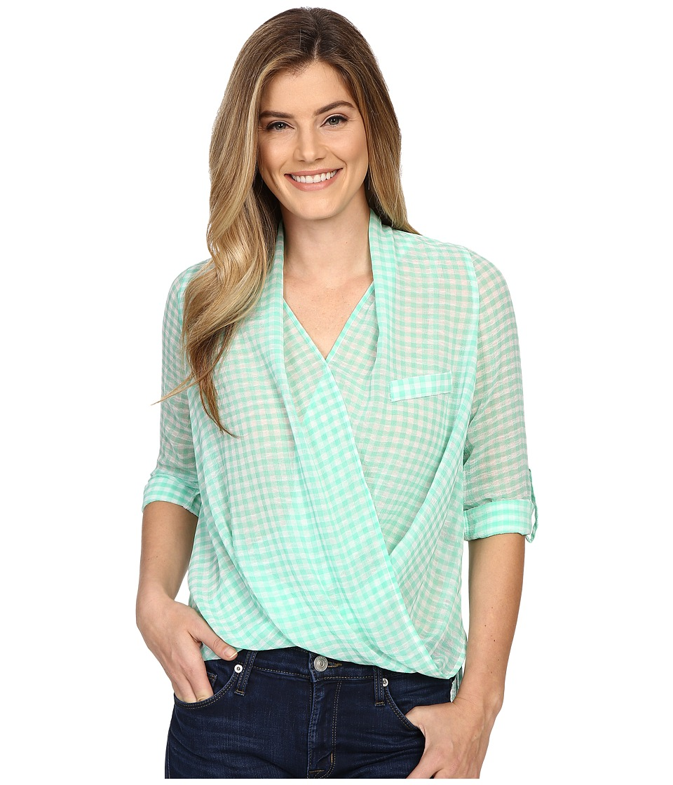 KUT from the Kloth - Imani Top (Seafoam) Women's Blouse