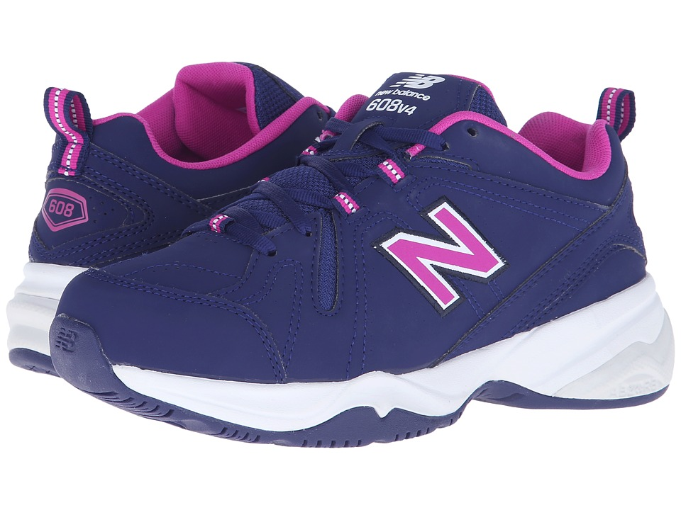 New Balance - WX608v4 (Purple/Pink) Women's Walking Shoes