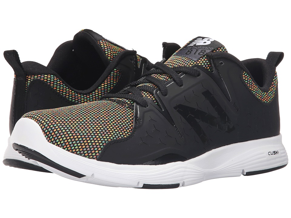 New Balance - MX818v1 (Black/Rainbow) Men's Cross Training Shoes