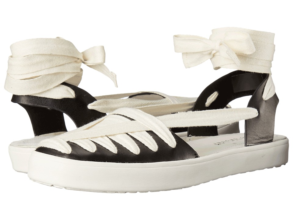 10 Crosby Derek Lam Leon (Black Soft Calf Hemp) Women
