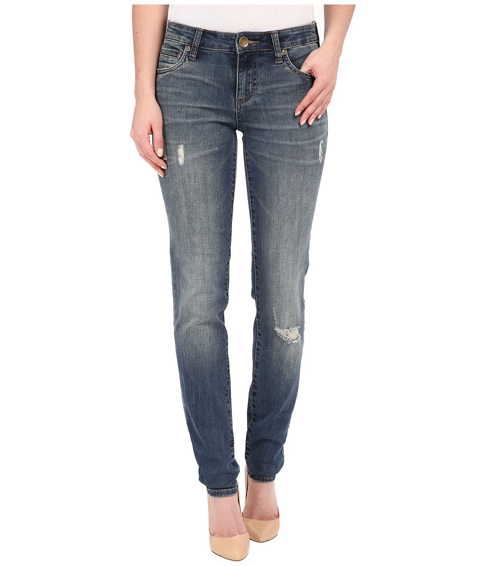 KUT from the Kloth - Diana Skinny Jeans in Zest w/ Dark Stone Base Wash (Zest/Dark Stone Base Wash) Women's Jeans