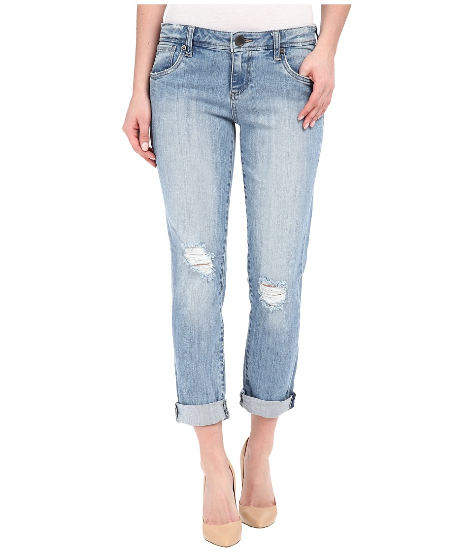 KUT from the Kloth Adele Slouchy Boyfriend Jeans in Touch w/ New Vintage Base Wash (Touch/New Vintage Base Wash) Women