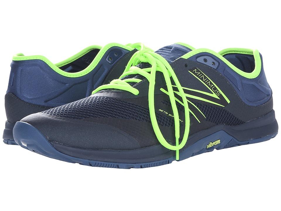 New Balance - MX20v5 (Black/Toxic/Navy) Men's Shoes