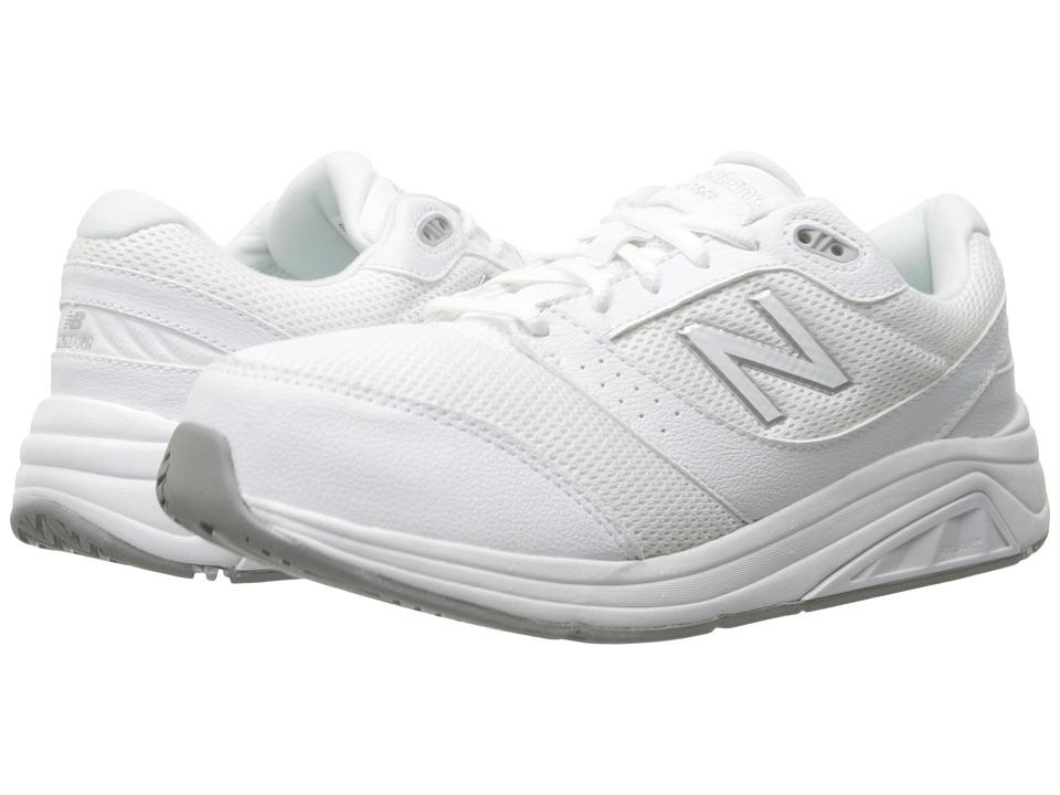 New Balance - MW928v2 (White/White) Men's Walking Shoes