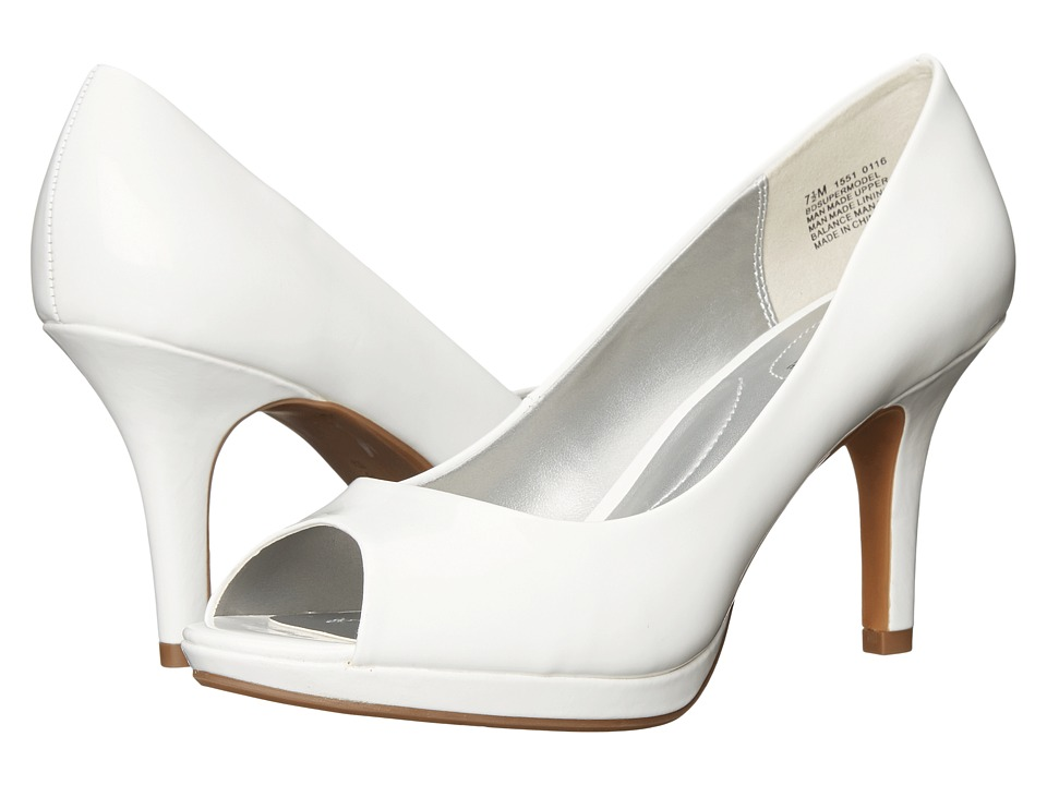 Bandolino Supermodel (White Synthetic) Women