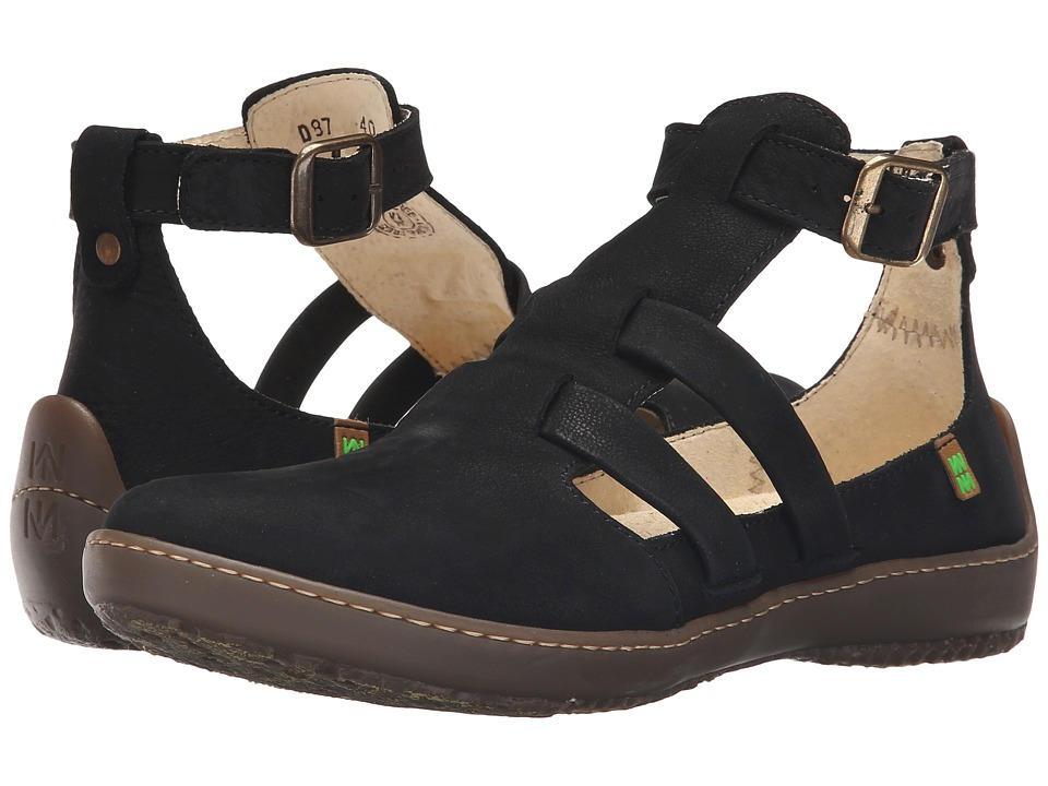 El Naturalista - Bee ND87 (Black) Women's Shoes