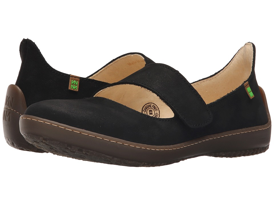El Naturalista - Bee ND85 (Black) Women's Shoes