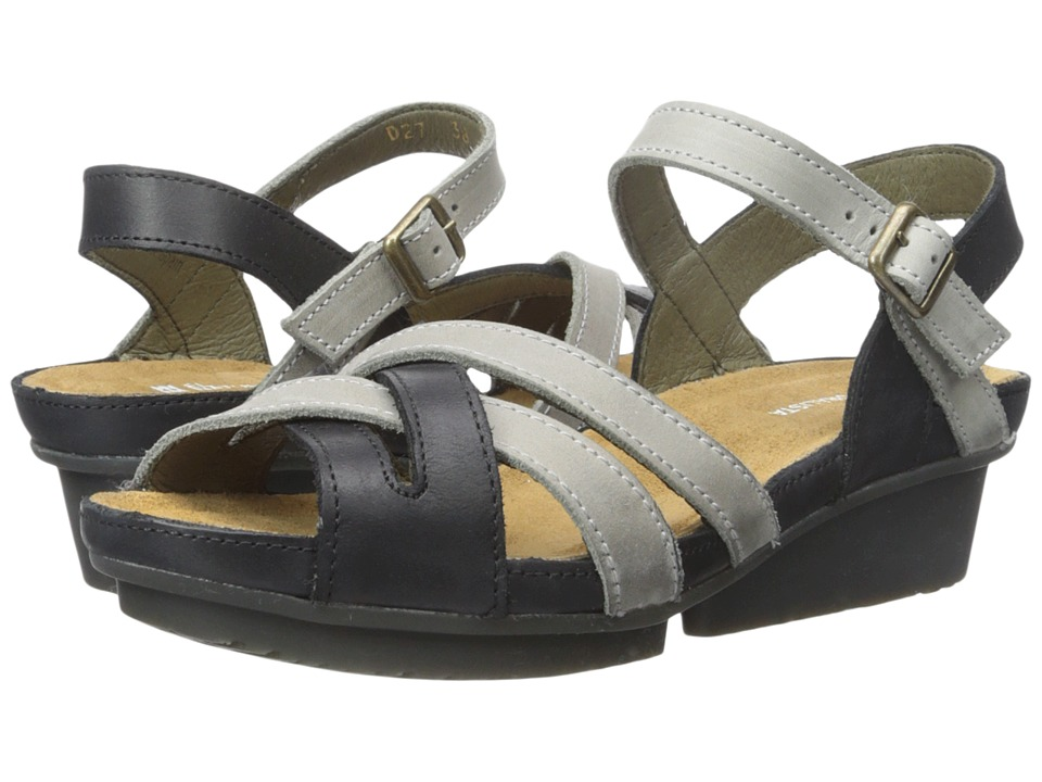 El Naturalista - Code ND27 (Black/Grey) Women's Shoes