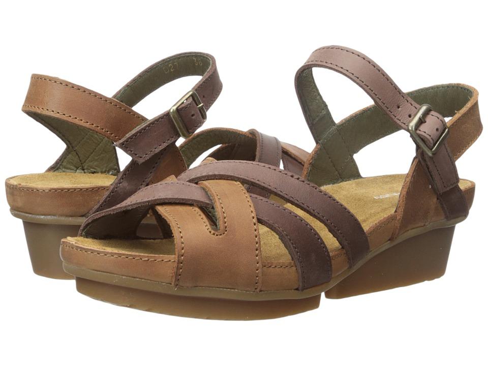 El Naturalista - Code ND27 (Wood/Brown) Women's Shoes