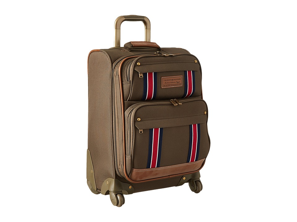Tommy Hilfiger - Berkeley Upright 21 Suitcase (Olive) Luggage