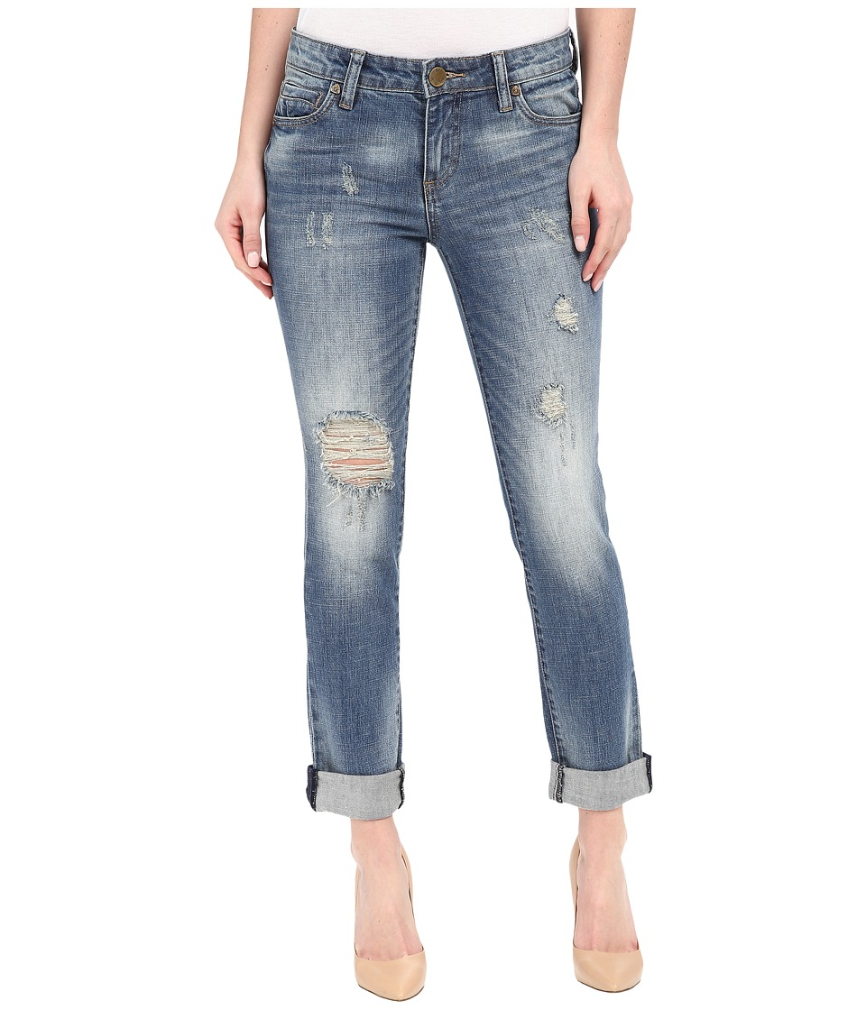 KUT from the Kloth - Catherine Boyfriend Jeans in Tolerance w/ Medium Base Wash (Tolerance/Medium Base Wash) Women's Jeans