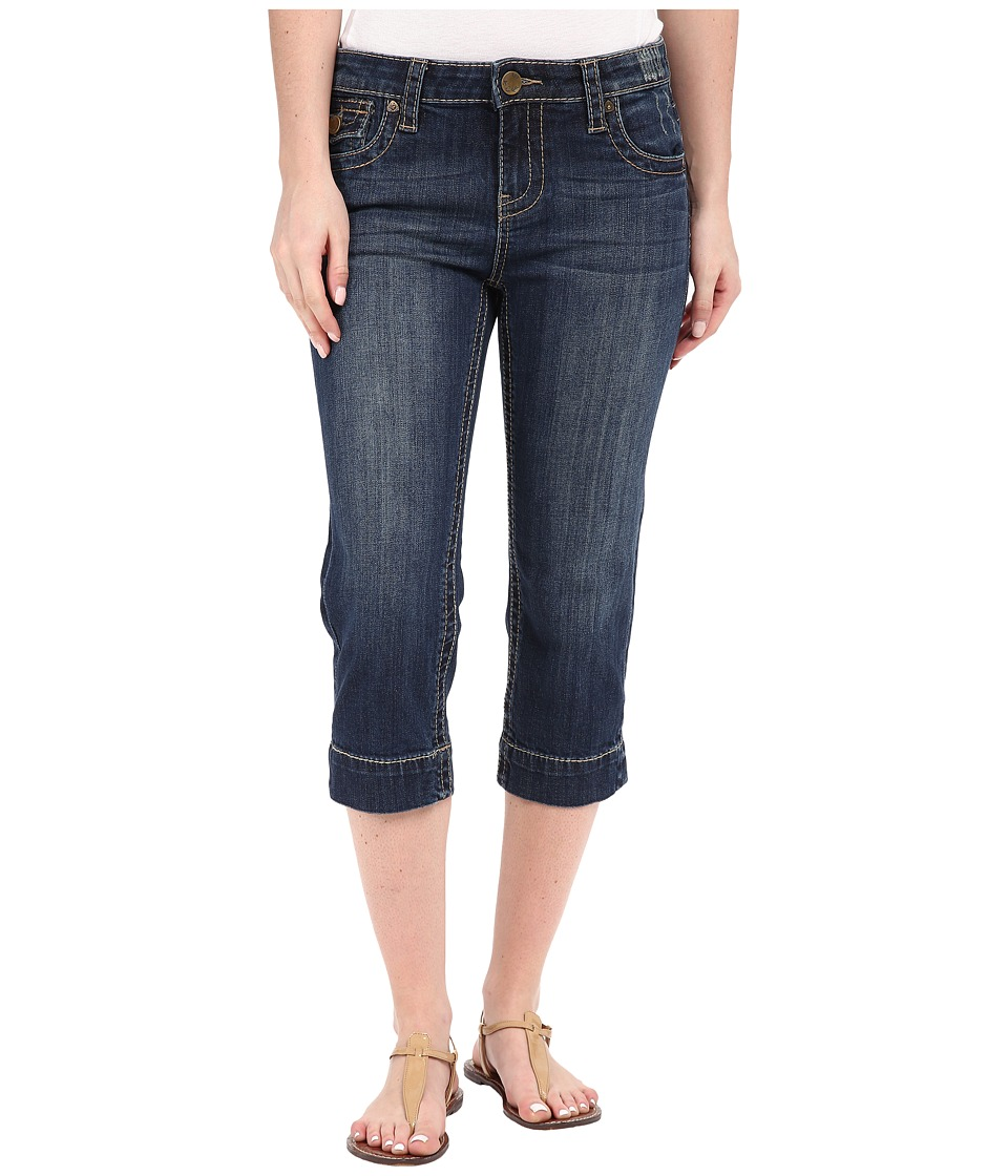 KUT from the Kloth - Natalie Crop Jeans in Vagos Wash (Vagos Wash) Women's Jeans