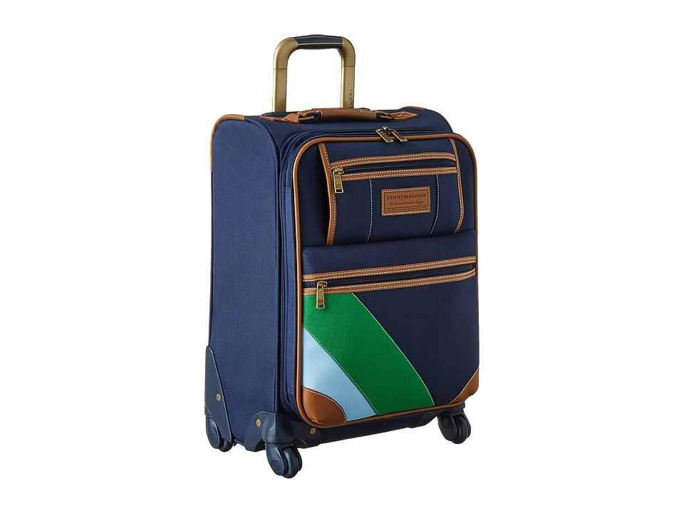 Tommy Hilfiger - Monterey Social Upright 21 Suitcase (Navy) Carry on Luggage
