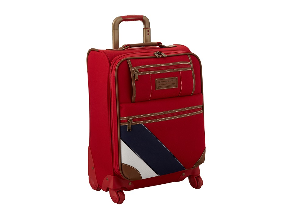 Tommy Hilfiger - Monterey Social Upright 21 Suitcase (Red) Carry on Luggage