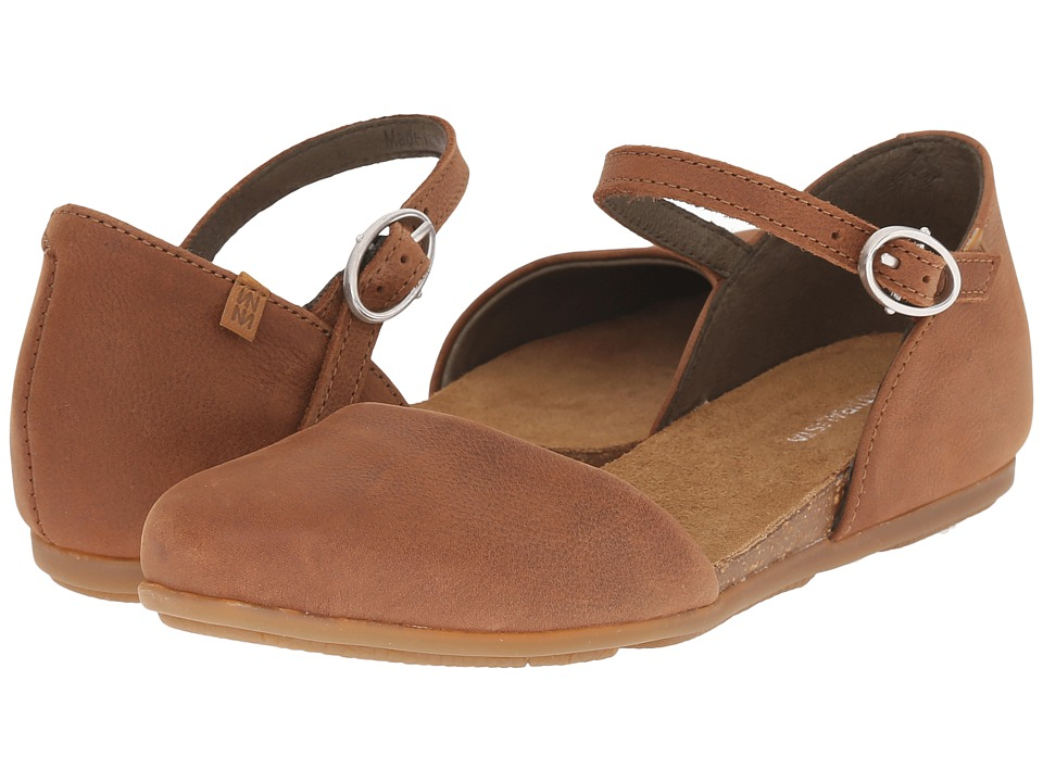 El Naturalista - Stella ND54 (Wood) Women's Shoes