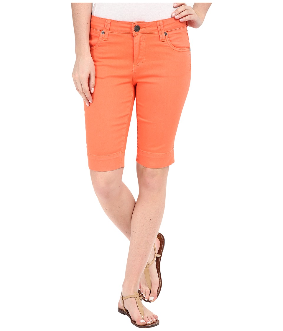 KUT from the Kloth - Natalie Bermuda Shorts in Tangerine (Tangerine) Women's Shorts