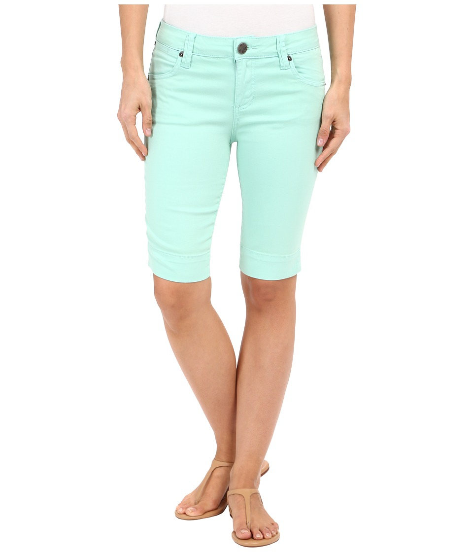 KUT from the Kloth - Natalie Bermuda Shorts in Mint (Mint) Women's Shorts plus size,  plus size fashion plus size appare