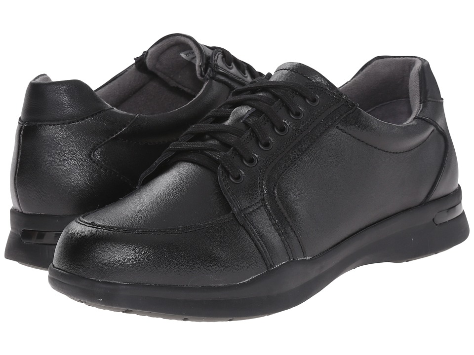 SoftWalk - Vital (Black Action Leather 2) Women's Lace up casual Shoes