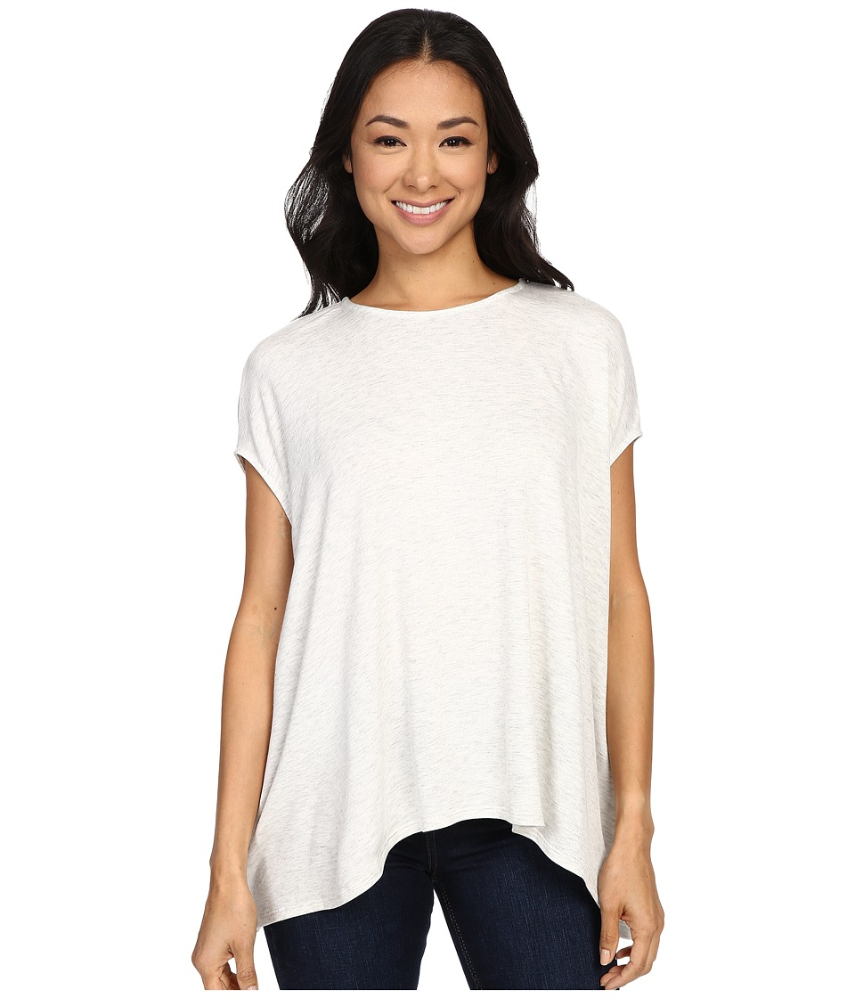 KUT from the Kloth - Stanley Top (Ivory) Women's Short Sleeve Pullover
