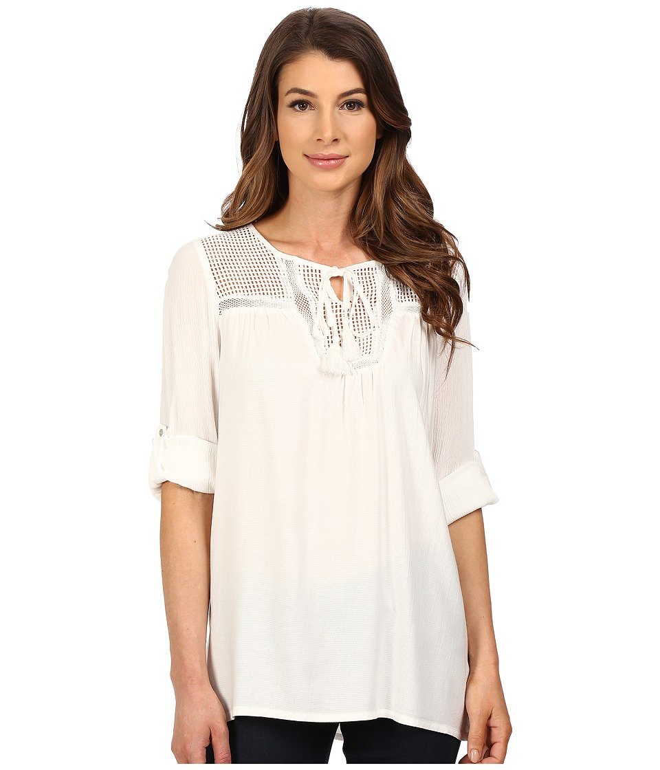 KUT from the Kloth - Gypsy Tunic (White) Women's Blouse