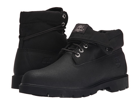 Timberland - Basic Roll Top (Black) Men's Shoes