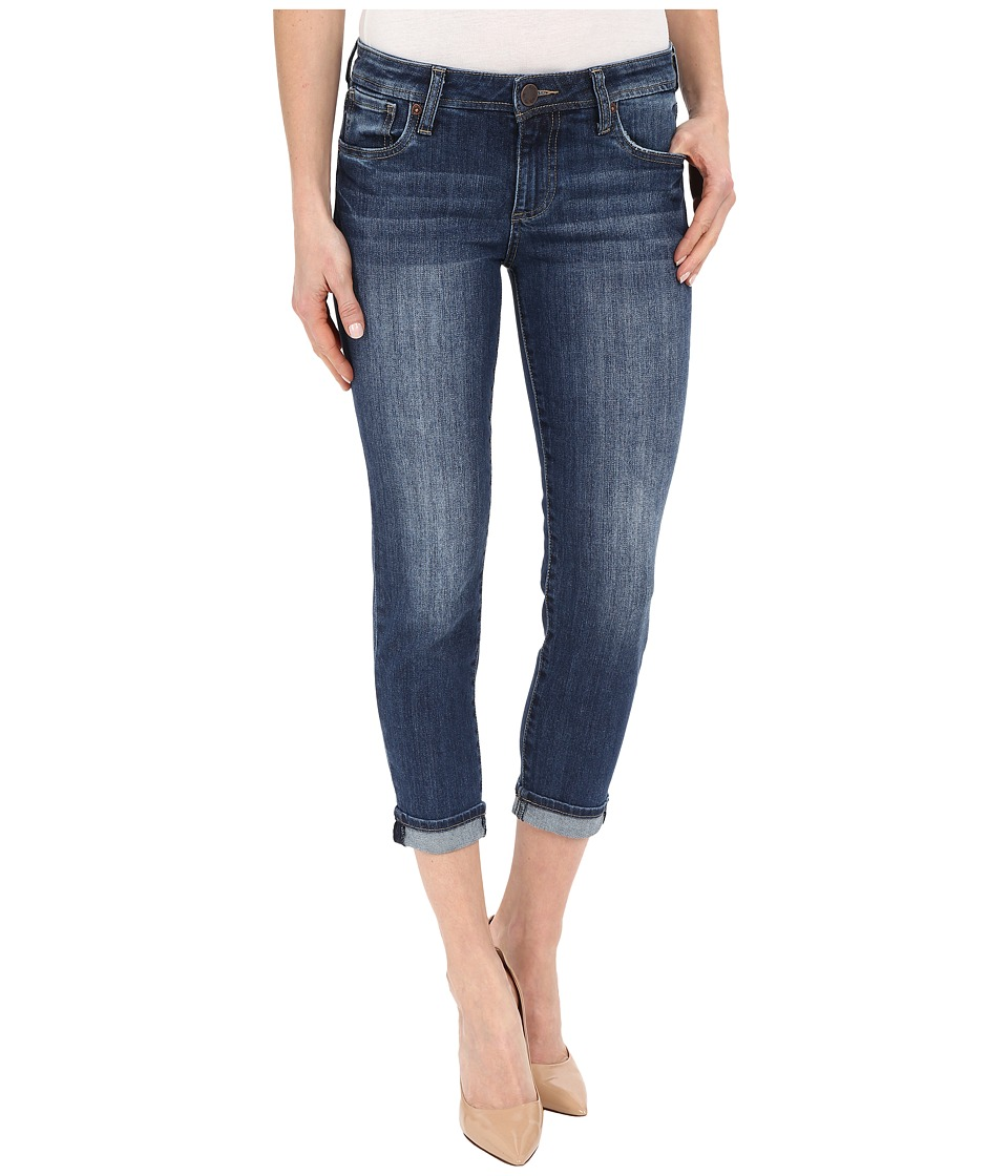 KUT from the Kloth - Catherine Slim Boyfriend Jeans in Savior w/ Medium Base Wash (Savior/Medium Base Wash) Women's Jeans