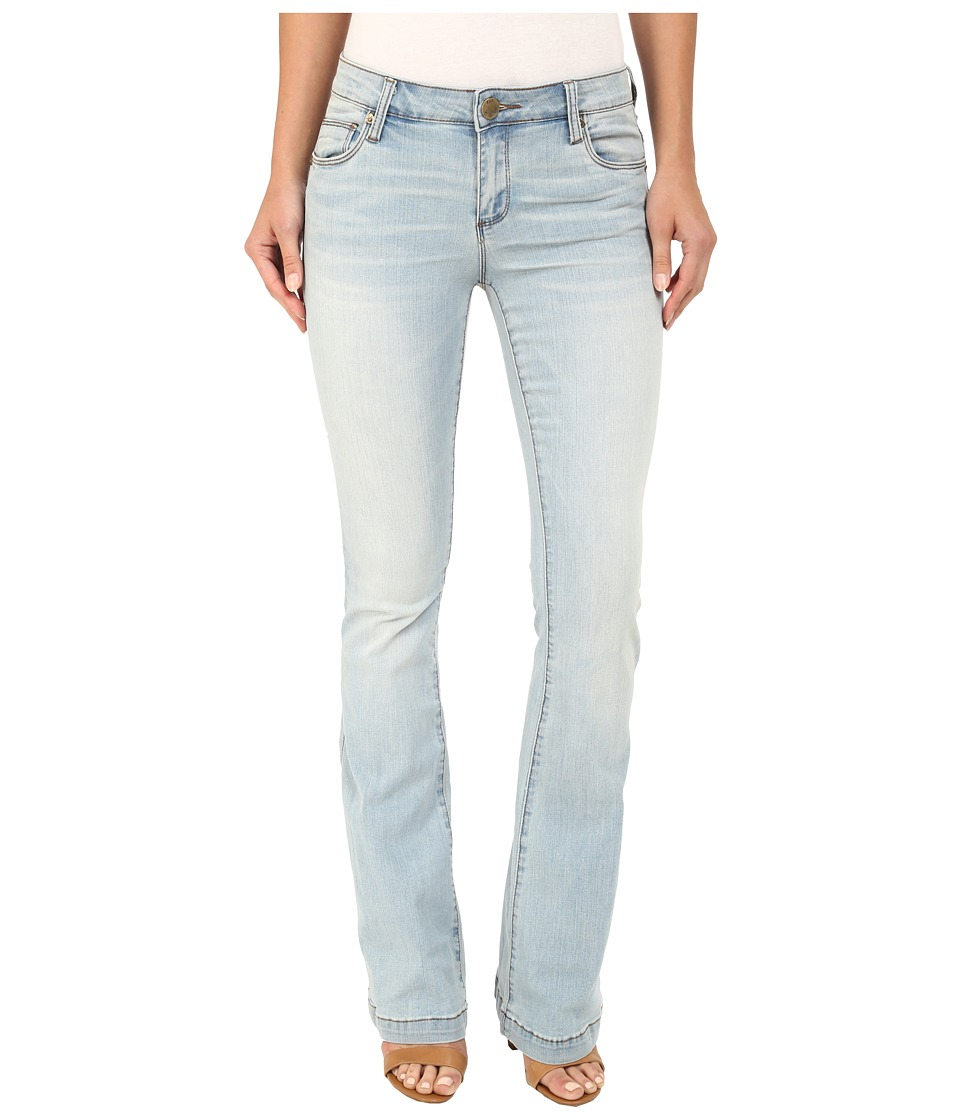 KUT from the Kloth - Chrissy Flare Jeans in Artistic w/ New Vintage Base Wash (Artistic/New Vintage Base Wash) Women's Jeans