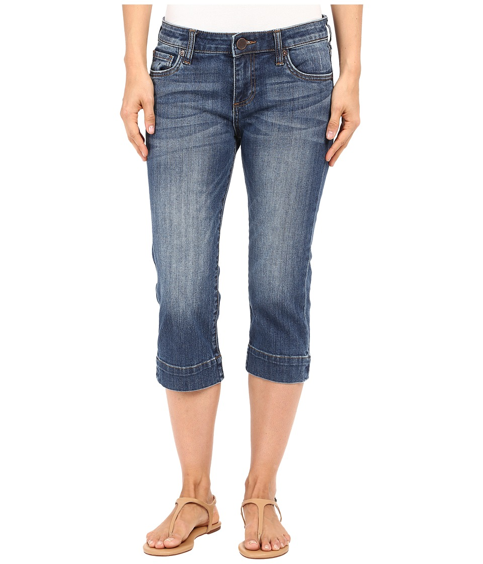 KUT from the Kloth Natalie Basic Five-Pocket Crop Jeans in Special w/ Medium Base Wash (Special/Medium Base Wash) Women
