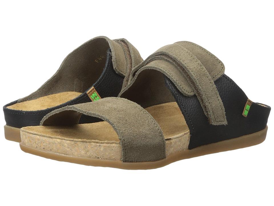El Naturalista - Zumaia NF44 (Mole/Black) Women's Shoes