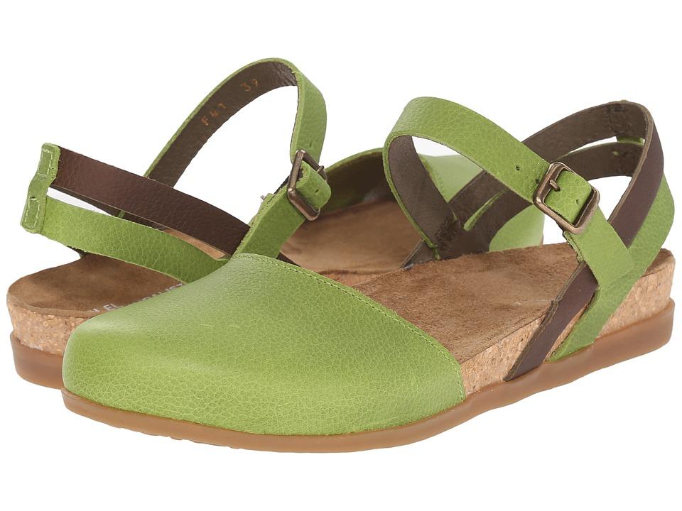 El Naturalista - Zumaia NF41 (Green Mixed) Women's Shoes