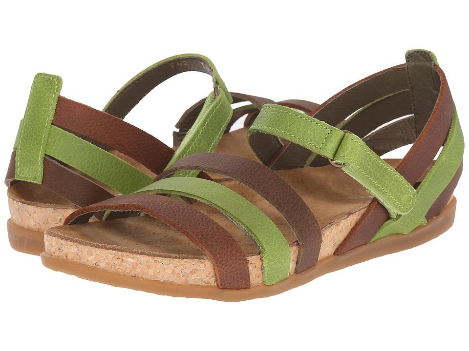El Naturalista - Zumaia NF42 (Green Mixed) Women's Shoes