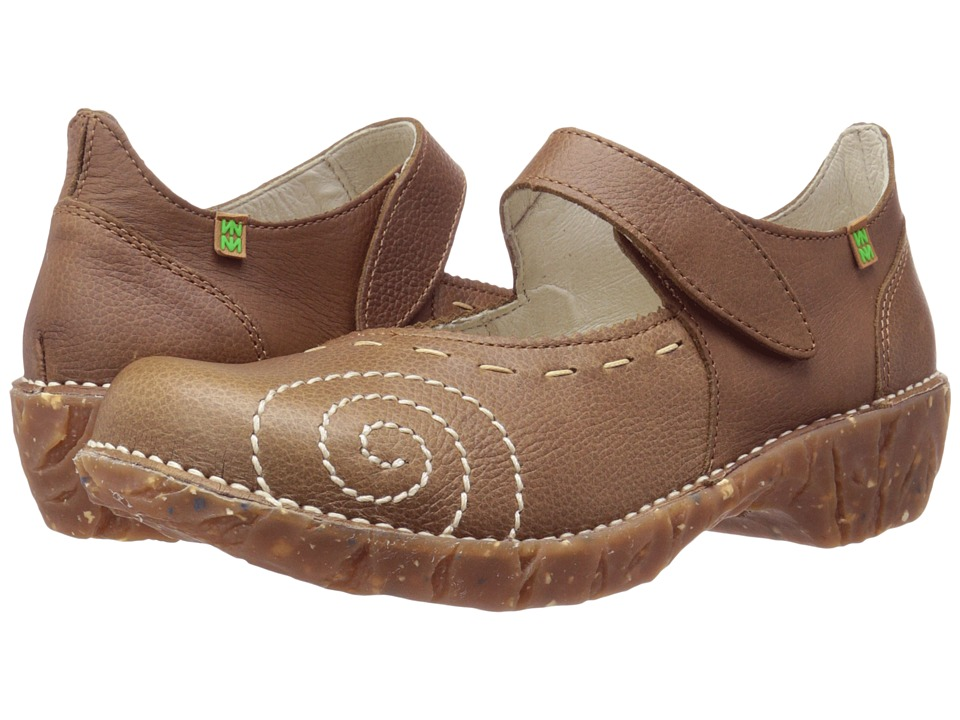 El Naturalista - Yggdrasil N095 (Kaki) Women's Maryjane Shoes