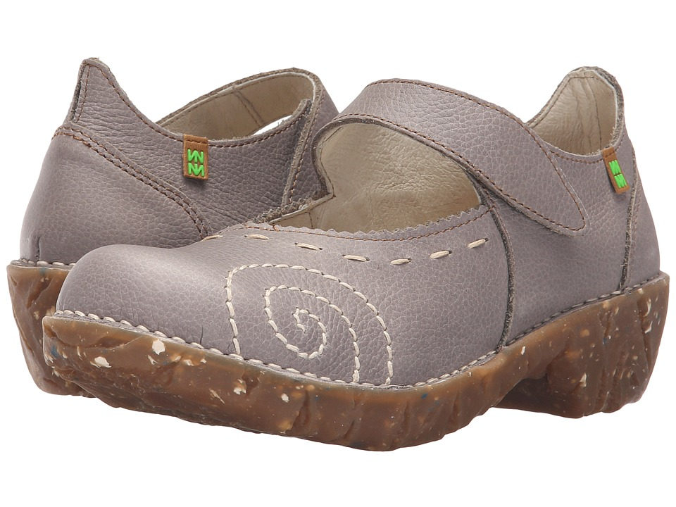 El Naturalista - Yggdrasil N095 (Grey) Women's Maryjane Shoes