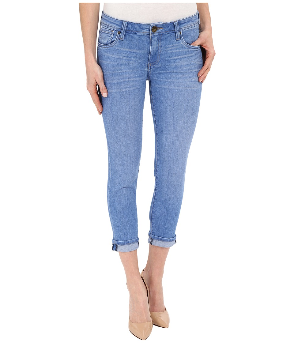 KUT from the Kloth - Catherine Slim Boyfriend Jeans in Resilient w/ Medium Base Wash (Resilient/Medium Base Wash) Women's Jeans