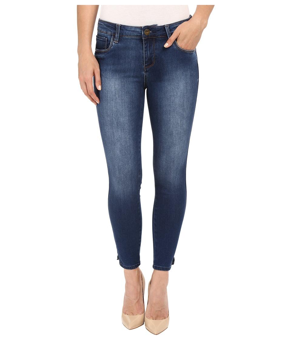 KUT from the Kloth - Eva Ankle Skinny Jeans in Valid w/ Dark Stone Base Wash (Valid/Dark Stone Base Wash) Women's Jeans