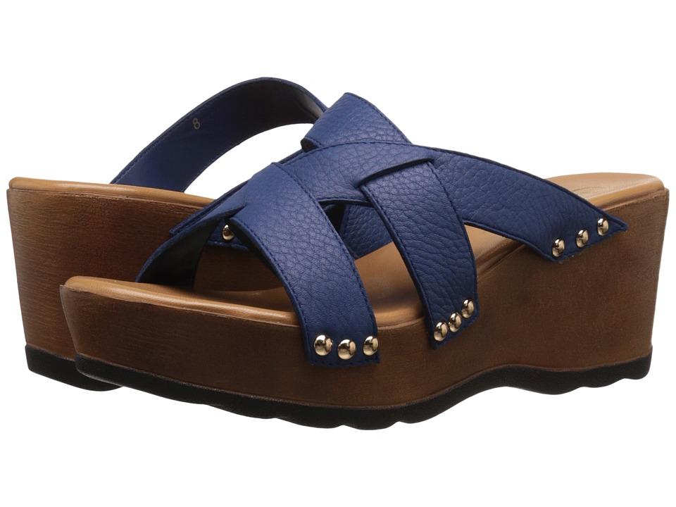 Callisto of California - Syrah (Royal) Women's Clog/Mule Shoes