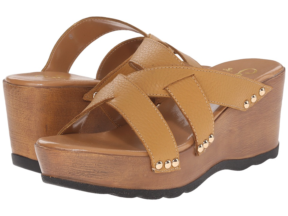 Callisto of California - Syrah (Tan) Women's Clog/Mule Shoes